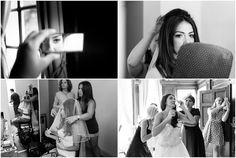 Bridal preparations at Monkey Island Hotel