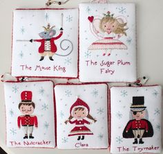 Nutcracker Designs From The Floss Box Download Pattern