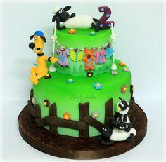 Shaun The Sheep Cake!!! - Cake by Lara Costantini