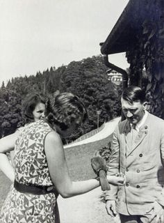 Adolf and Geli in Berghof
