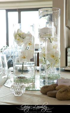 Wedding Venues Beach, Atlantic Beach, Cape Town South Africa, White Wedding Flowers, Plant Decor, Wedding Bouquets, Orchids, Glass Vase, Table Decorations