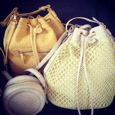 PreviewingCharlotte Ronson'sspring collection! We love these bags!