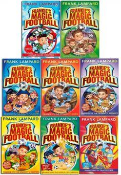 Frankies Magic Football  by Frank Lampard  #Football #FrankiesMagic #Frank #FrankLampard #Book #ChildrensBook  http://www.snazal.com/frankies-magic-football-frank-lampard-8-books-collection-pac--DEALMAN-U5-frank-8bks.html