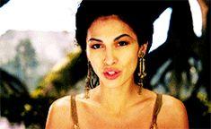 Elodie Yung in : Gods Of Egypt as Hathor Elodie Yung, Goddess Of Love, Romance, Oc, Image, Egypt, Romance Film, Romances, Romance Books