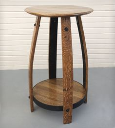 Reclaimed Bourbon Barrel Sofa Table | Home Furniture