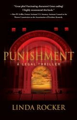 Punishment by Linda Rocker  ***  This legal thriller, focusing on how a convoluted pair of cases affect courthouse staff and criminals alike, benefits from the insider perspective provided by Linda Rocker, a legal professional.  Casey Portman is a bailiff with the West Palm Beach courthouse, and she couldn't be happier; she loves her work, admires the judge she assists, and is in the early stages of an exciting romantic affair ...  Read on…