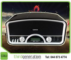 Pump up the volume with our assorted range of Lenco audio systems. Get yours today from CAW Third Generation. #Lenco #audio #3rdGen