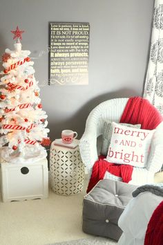 christmas bedroom Master bedroom decorated for Christmas Noel Christmas, Christmas Crafts For Kids, All Things Christmas, Christmas Music, Christmas Movies, Houses Decorated For Christmas, Christmas Decorations For Room, White Christmas, Christmas Cards