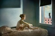 Beautiful Photographs inspired by Edward Hopper's Paintings