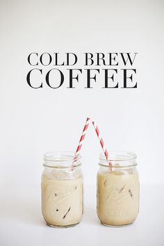 Cold Brew Coffee by Vanilla and lace, via Flickr