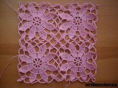 This looks like the Queen Ann's lace motif - so beautiful!  Krok po kroku - Szydełkowe wdzianko - Odcinek 3 (łączenie elementów)