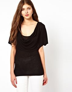 French Connection Draped Top