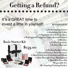 Getting a Refund in your taxes?  Perfect...use it towards your business!  Become a Beauty Guide w/LimeLight by Alcone!  Like it, pin it...then go to https://www.limelightbyalcone.com/specialmaskara/enrollment to sign up with me!