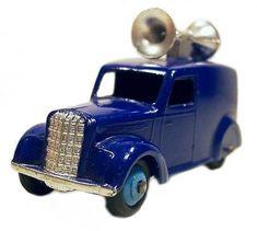#diecast #Dinky 492 Loudspeaker Van new or updated at www.diecastplus.info