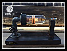 Steampunk Table Lamp Basil Industrial Table Lamp by Fifty1st