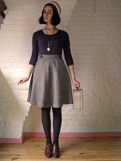 Pirouette, Cacahuète! | Kollabora Sewaholic Hollyburn skirt