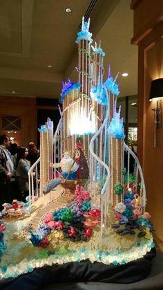 Little Mermaid Wedding Cake Art Gorgeous Cakes, Pretty Cakes, Cute Cakes, Amazing Cakes, Amazing Art, Crazy Cakes, Fancy Cakes, Pink Cakes, Take The Cake