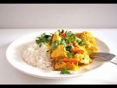 Cocina para Urbanitas: Receta de curry de pollo con leche de coco. Cómo hacer curry de pollo