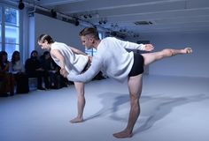 Live Michael Clark Performance at our SS16 Menswear Show in Milan
