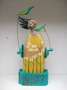 Bird Lady by OPISHOP