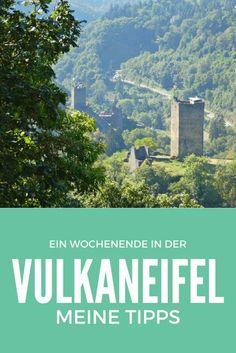 Die Manderscheider Burgen | Die Vulkaneifel im Nordwesten von Rheinland-Pfalz ist das Land der Maare und Vulkane. Die Landschaft ist geprägt vom Vulkanismus und auch heute noch ist sie vulkanisch aktiv. Das macht die Gegend rund um Daun und Manderscheid so einzigartig. Langweilig wird es einem bei den vielen Sehenswürdigkeiten und vor allem der wunderschönen Natur sicher nicht – damit ist die Vulkaneifel ideal geeignet für einen Tagesausflug, Kurzurlaub oder auch für einen längeren…