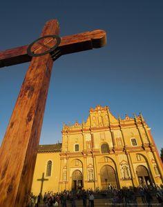 Cathedral. San Cristobal de las Casas. Chiapas. Mexico.