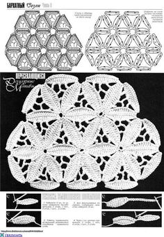 irish crochet motif*