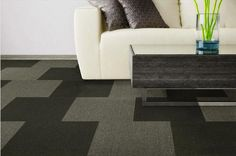 Amp up your space with a patterned area rug.