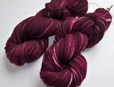 Hand Dyed Superwash Merino Worsted Yarn  by SeeJayneKnitYarns, $19.00