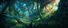 ArtStation - Forest (this time in 3D), Jordi Gonzalez Escamilla