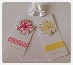 2014 The new Scalloped Tag Punch makes gift tag and bookmark projects a cinch!