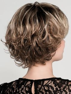 Flair Mono Wig by Ellen Wille – Kalın saçlar – Haare Curly Hair Styles, Haircuts For Curly Hair, Curly Hair Cuts, Medium Hair Styles, Easy Hairstyles, Choppy Hair, Short Wavy Hair, Short Hair With Layers, Short Hair Cuts For Women