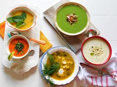 Chill out with summery cold soups   The Columbian