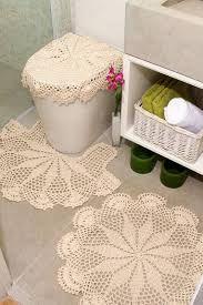 Resultado de imagem para tapete de banheiro croche