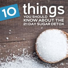 The 21 Day Sugar Detox has been gaining a lot of momentum and you may be thinking it would be a good way to help rid yourself of sugar and carbohydrate cravings. If youve never done a detox before you may even be a little wary about what to expect. 21 Day Detox, 21 Day Sugar Detox, Sugar Detox Diet, Sugar Free Diet, Detox Plan, Carb Detox, Sugar Cleanse, Sugar Diet, Sugar Detox Recipes