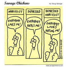 Cartoons on Sticky Notes by Doug Savage. Psychology Jokes, Savage Chickens, Mental Health Humor, Therapy Humor, Adam Grant, Enough Book, Silly Jokes, In Case Of Emergency, Narcissistic Abuse