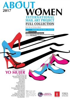 International Mail Art Project  About Women: ABOUT WOMEN 2017 * FULL COLLECTION & YO MUJER