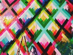 Maya Hayuk's magnificent mural.  | Bryantnorman | VSCO Grid