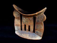 Wood Ethiopian Pillow - Kashgar Tribal Artifacts - Life for the Modern Nomad Repurposed Furniture, Antique Furniture, Handmade Rugs, Handmade Jewelry, Art Carved, Tribal Jewelry, Ethiopia, Handicraft, Cool Designs