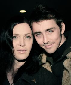 Lee Pace and Calpernia Addams - he's so young in this picture, I love it.