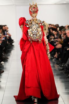 Maison Martin Margiela Spring 2015 Couture - Collection - Galliano is back :]