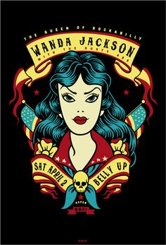 Show Posters - Wanda Jackson