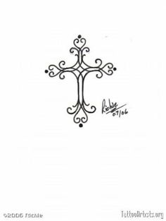 Would make a pretty, tiny tattoo on the side of my wrist below the thumb. by aline