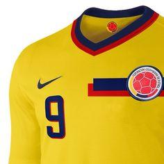 Propuesta para la #federacióndefútbol de #Colombia. #Diseño limpio basado en la #bandera. by iwanttoworkfornike