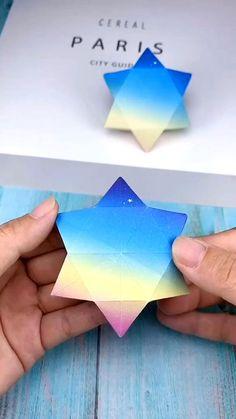 Cool Paper Crafts, Paper Crafts Origami, Diy Paper, Fun Crafts, Paper Art, Summer Crafts, Fabric Crafts, Diy Crafts Hacks, Diy Crafts For Gifts