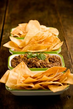 Hot and Spicy Refried Bean Dip