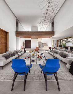 Casa com design moderno � S?o Paulo