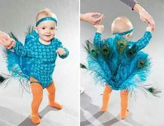 Infant Peacock Costume