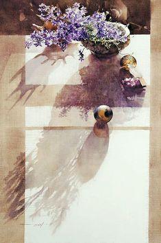 Мобильный LiveInternet Сравнима жизнь с мозаикой, коллажем... Художница You Mee Park   lira_lara - Надежды маленький оркестрик под управлением любви  