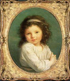 Portrait of Caroline Lalive de la Briche, 1786 - Elisabeth Vigee-Lebrun
